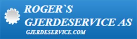 Roger's Gjerdeservice AS logo