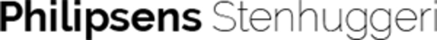 Philipsens Stenhuggeri logo