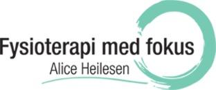 Fysioterapi Med Fokus v/ Alice Heilesen logo
