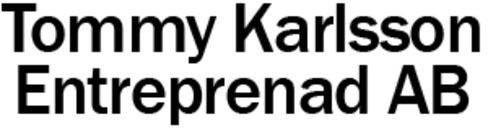 Tommy Karlsson Entreprenad AB logo