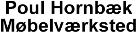 Poul Hornbæk Møbelværksted logo