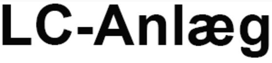 LC-Anlæg logo