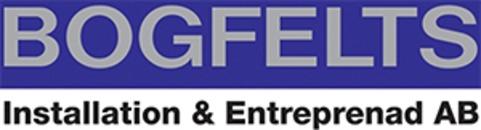 Bogfelts Installationer & Entreprenader AB logo