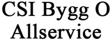 CSI Bygg O Allservice logo