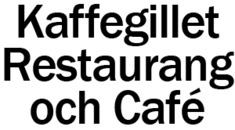 Kaffegillet Restaurang och Café logo