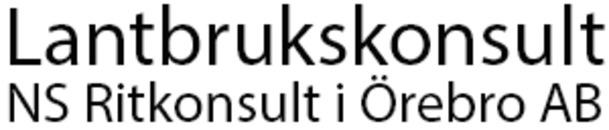 Lantbrukskonsult NS Ritkonsult i Örebro AB logo