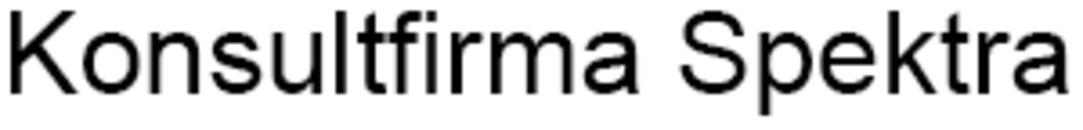 Konsultfirma Spektra logo