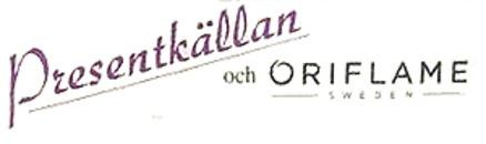 Presentkällan & Oriflame logo