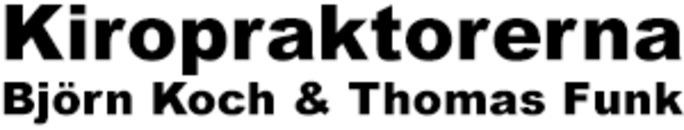 Kiropraktorerna Björn Koch & Thomas Funk logo
