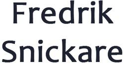 Fredrik Snickare logo