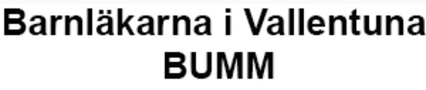 Barnläkarna i Vallentuna BUMM logo