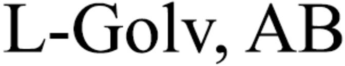 L-Golv, AB logo