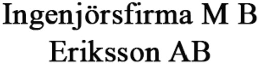 Ingenjörsfirma M B Eriksson AB logo