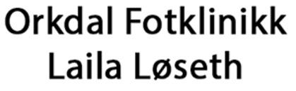 Orkdal Fotklinikk Laila Løseth logo
