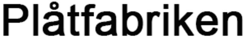 Plåtfabriken Sverige AB logo