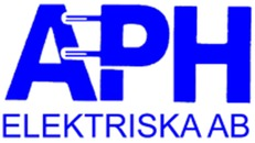 A P H Elektriska AB logo