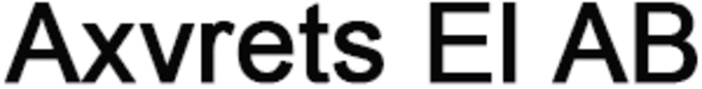 Axvrets El AB logo
