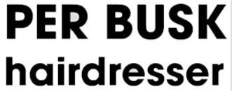 Per Busk Hairdresser logo