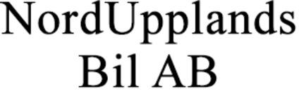NordUpplands Bil AB logo