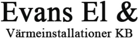 Evans El & Värmeinstallationer KB logo
