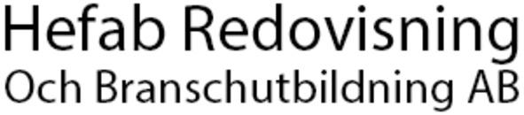 Hefab Redovisning Och Branschutbildning AB logo