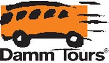 Damm Tours logo