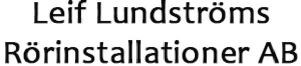 Leif Lundströms Rörinstallationer AB logo