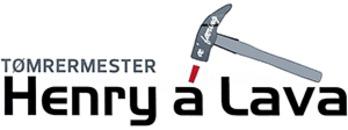 Tømrermester Henry á Lava logo