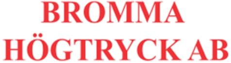 Bromma Högtryck AB logo