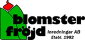 BLOMSTERFRÖJD Inredningar AB logo
