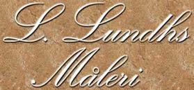 L. Lundhs Måleri logo