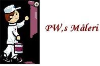 PW:s Måleri logo