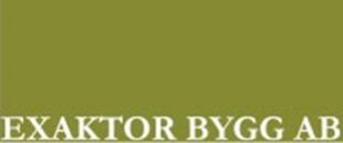 Exaktor Bygg AB logo