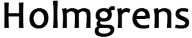 Holmgrens logo
