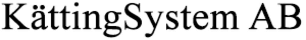 KättingSystem AB logo