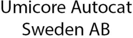Umicore Autocat Sweden AB logo