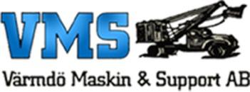 VMS Värmdö Maskin & Support AB logo