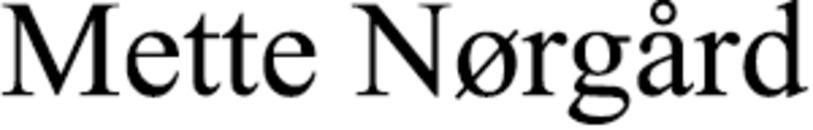 Mette Nørgård logo