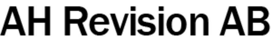 AH Revision AB logo