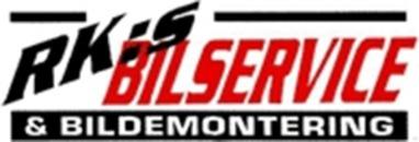 R K:s Bilservice HB logo