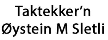 Taktekker'n Øystein M Sletli logo