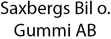 Saxbergs Bil o. Gummi AB logo