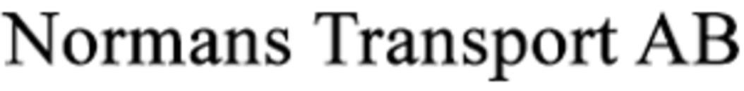 Normans Transport AB logo