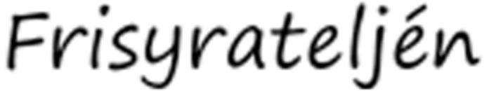 Frisyrateljén logo