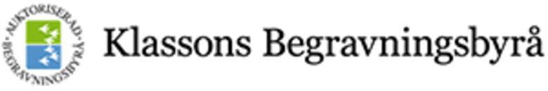 Klassons Begravningsbyrå AB logo