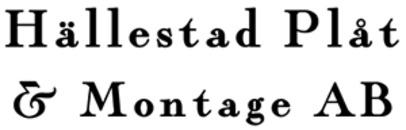 Hällestad Plåt & Montage AB logo