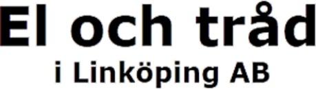 El & Tråd i Linköping AB logo