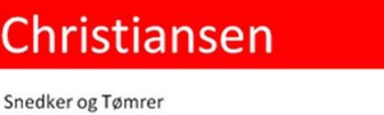 Christiansen Snedker og Tømrer logo