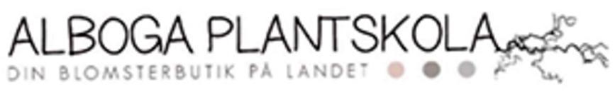 Alboga Plantskola logo