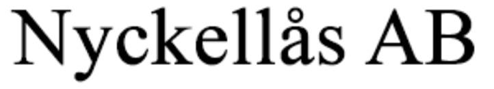 Nyckellås AB logo